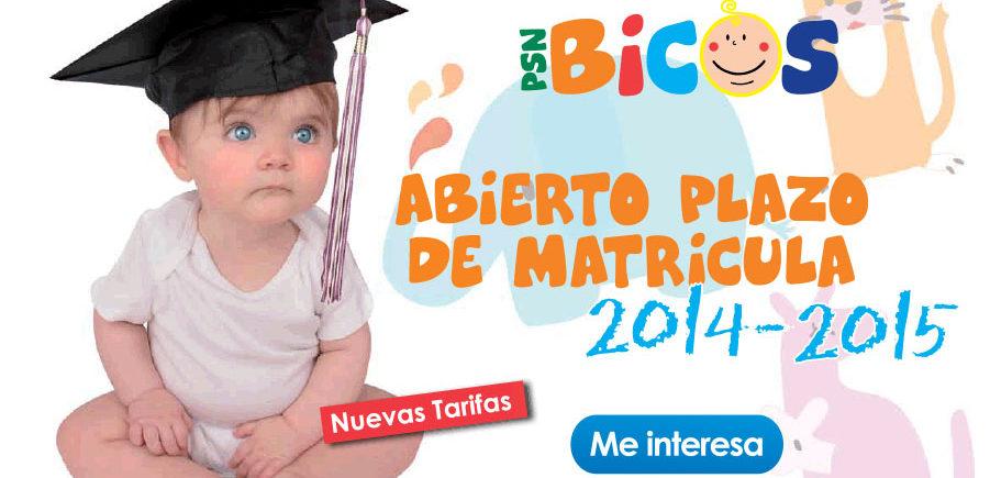 Abierto El Plazo De Matrícula En La Escuela Infantil Bicos