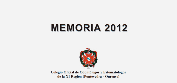 Memoria Del Colegio 2012