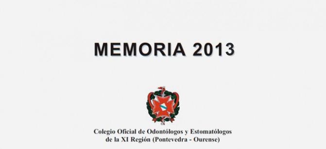 Memoria Del Colegio 2013
