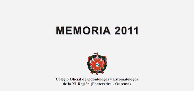 Memoria Del Colegio 2011
