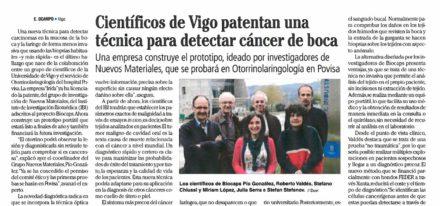 Foto Cancer Boca Vigo