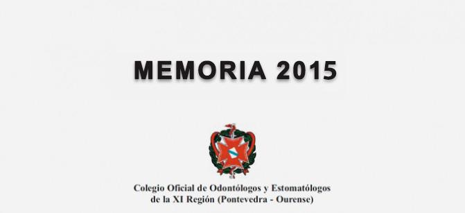 Memoria Del Colegio 2015