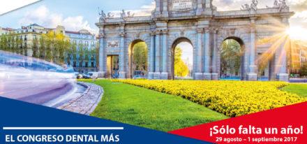 29 8 2016 365 Días Para El Congreso Mundial De La FDI En Madrid