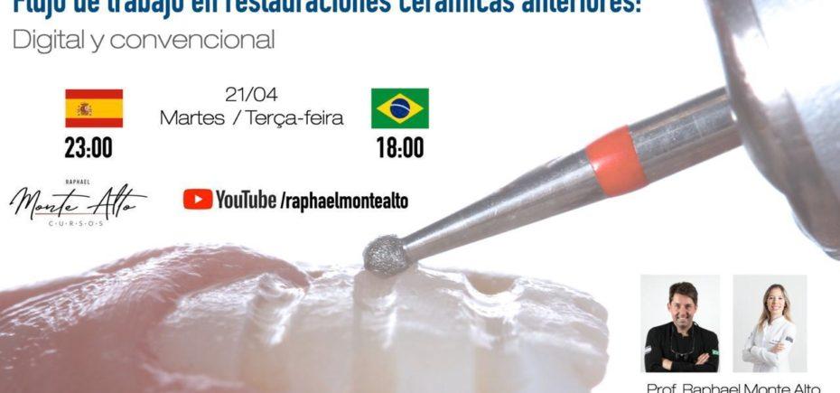 Webinars De Raphael Monte Alto, Hoy A Las 23 Horas, Y De Maxillaris Mañana A Las 11 Horas