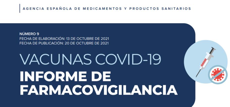 Noveno Informe Sobre Farmacovigilancia De Las Vacunas Covid-19